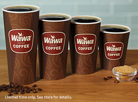 $1 Coffee ANY Size
