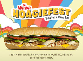 $4.99 ANY Classic Hoagie. Includes all hot and cold varieties!