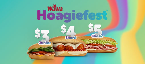 All hoagies. Hoagielicious prices.