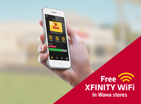 Free XFINITY WiFi is now available at Wawa