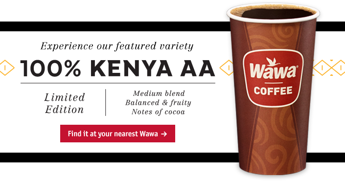 Season's Greetings from Wawa Reserve Winter Blend. Find it at your nearest Wawa.