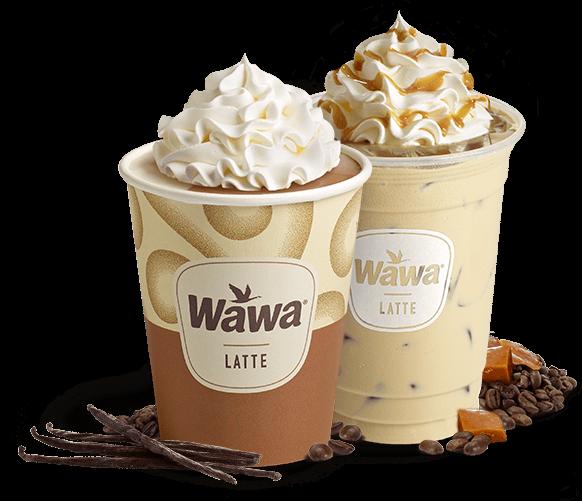 Wawa Hot And Iced Lattes