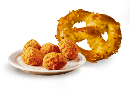 Snacks: A Variety of Snack Foods Available Throughout the