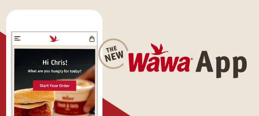 The NEW Wawa App
