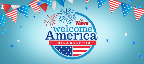 Wawa Welcome America! 2017
