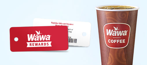 The NEW Wawa Rewards Card