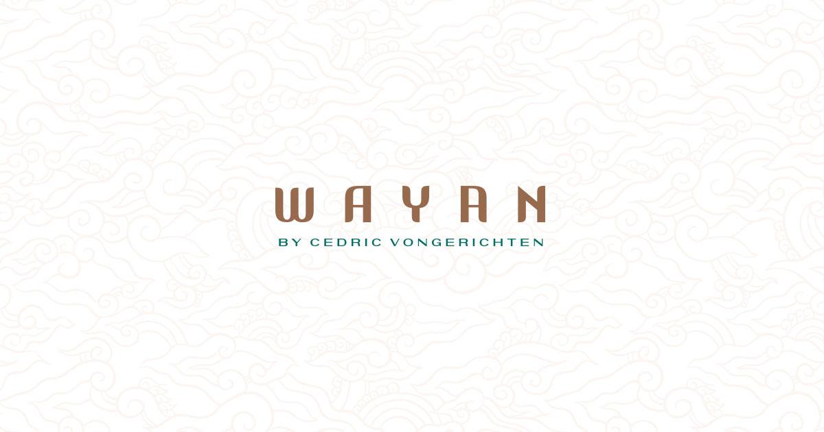 Wayan By Cedric Vongerichten