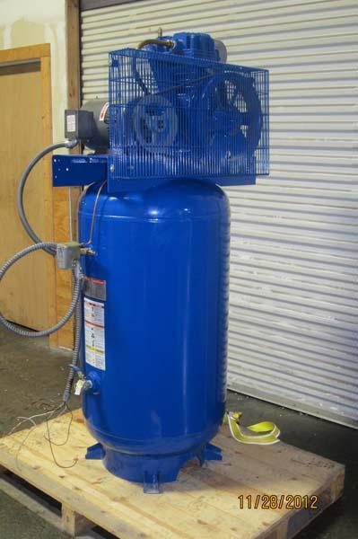 Quincy Auto Auction >> Lot #6: Quincy 5 HP 80 Gallon Two-Stage Air Compressor - WireBids