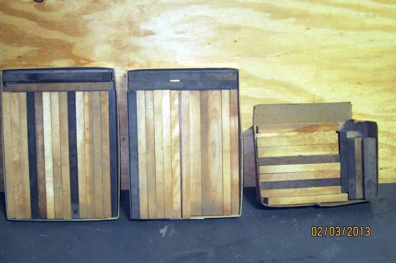 Lot 70 wood furniture for printing press wirebids for 70s wooden couch