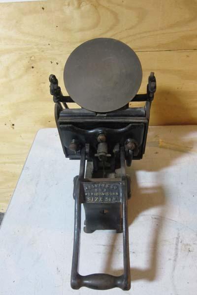 Kelsey Co 5x8 Tabletop Letterpress