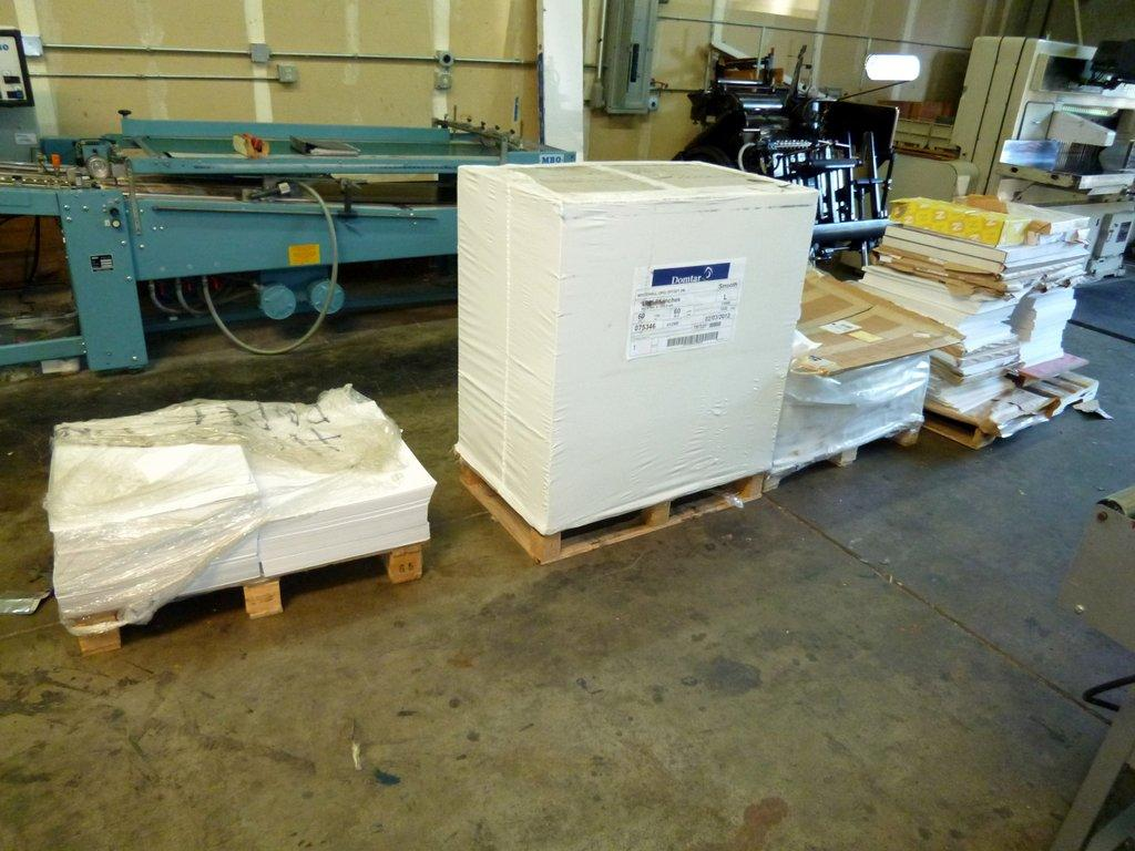 Public Auctions Near Me >> Lot #4: All Paper in shop, 1 Skid still wrapped, 3 partial ...