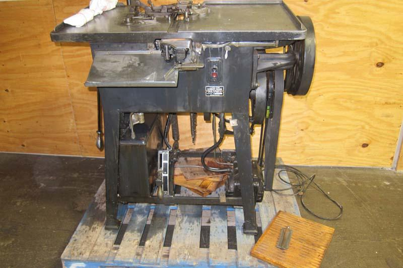 Lot 6 Ludlow Typograph Machine Wirebids