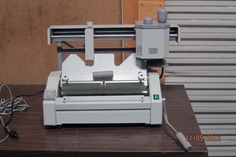 types of binding machine