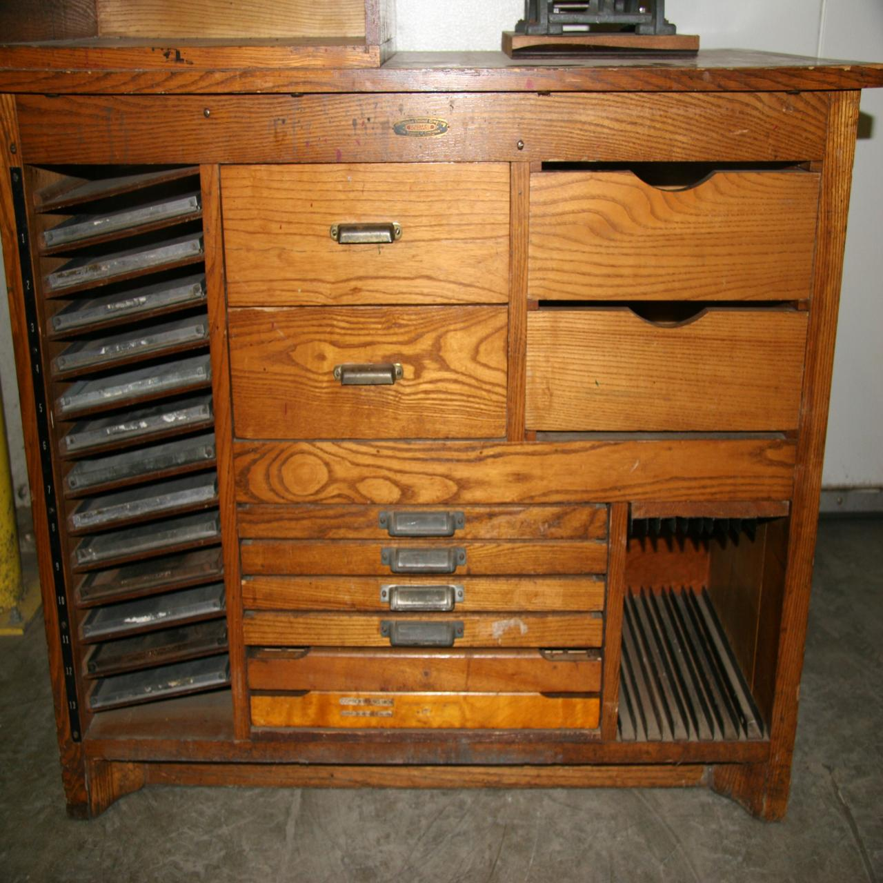 lot 38 printers cabinet wirebids