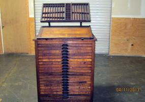 Auction #12485: Letterpress Shop Auction - Cabinets, Type, Cuts ...