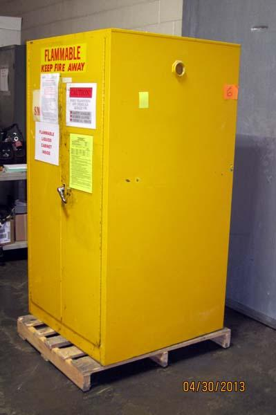 Lot 88 Justrite Safety Storage Cabinet For Flammable