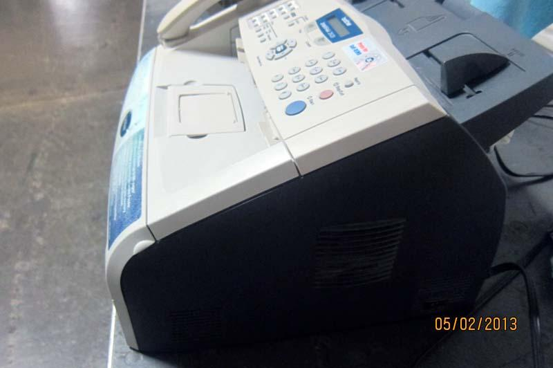 intellifax 2820 laser fax machine and copier