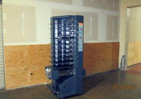 a photo of 2002 C.P. Bourg BST10-d Collator Tower (NEEDS SERVICE)