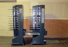 a photo of 2002 C.P. Bourg BST10-d Two Tower Collating System