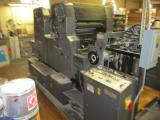 1984 Heidelberg MOZP 2 Color Printing Press s/n 604135