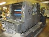 A photo of 1984 Heidelberg MOZP 2 Color Printing Press s/n 604135
