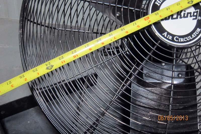 Commercial Air Circulator : Lot air king quot industrial wall mounted