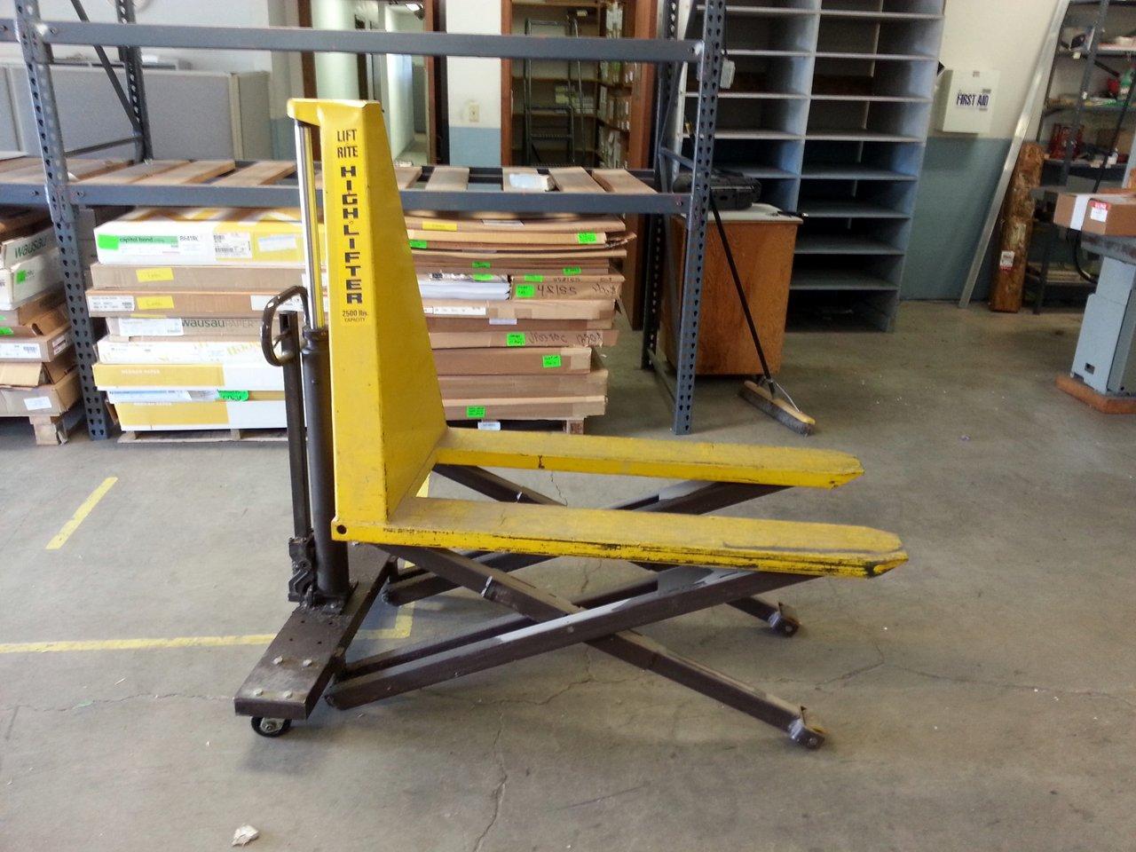 High Lift/Scissor Lift Pallet Jack 3300 Lb. Capacity ...  |High Lift Pallet Jack