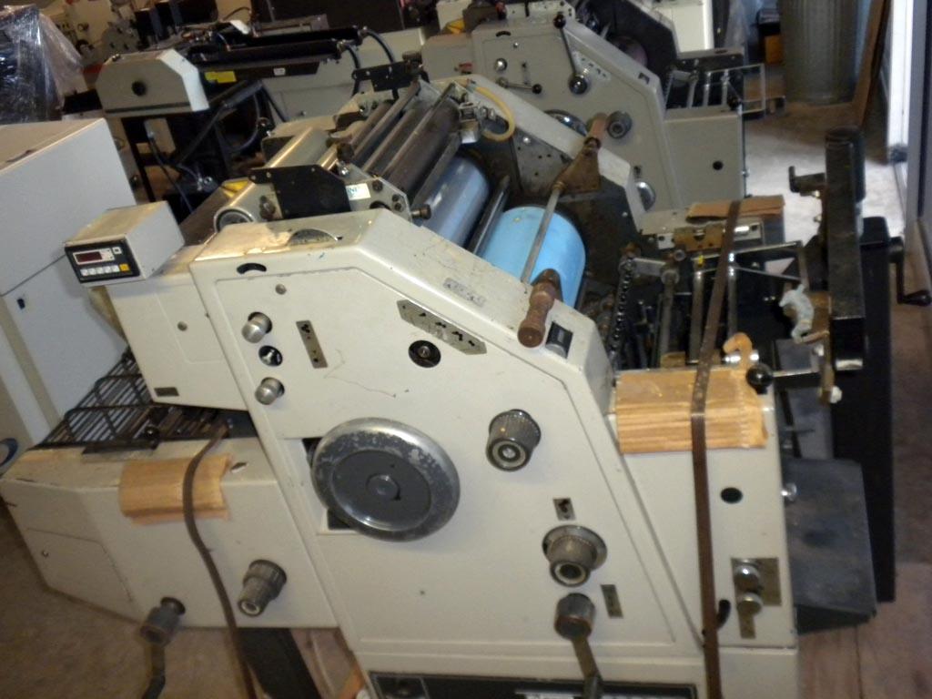 Color press printing - Color Press Printing Ryobi 2800 Cd One Color Printing Press W T Head