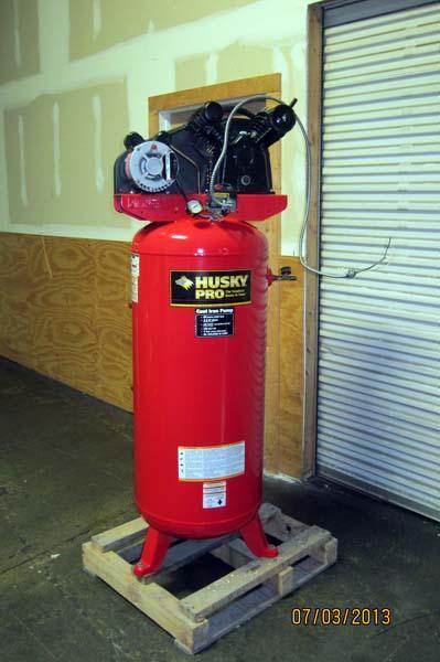 Lot #50: 2007 Husky Pro Air Compressor - WireBids