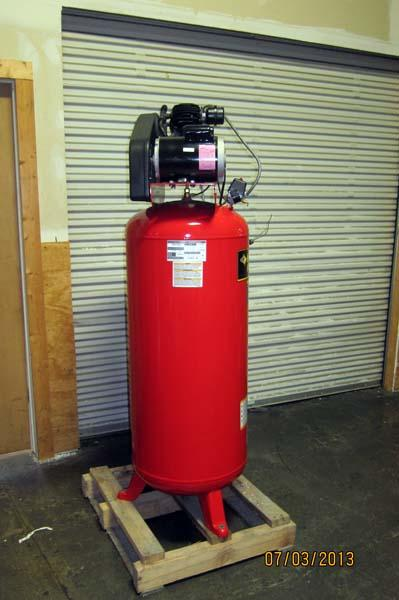 Lot #50: 2007 Husky Pro Air Compressor - WireBids