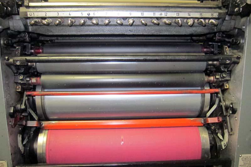 Lot #22: 1983 Heidelberg GTO 52 Single Color Printing Press (See Video ...