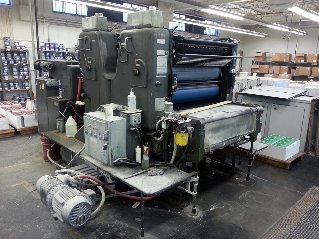 offset printing presses The presstek 52di is a two-page landscape format highly automated digital offset press that supports 300 lpi and fm screening fast printing, easy to use and maintain.