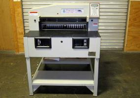 "a photo of Martin Yale 26"" PL2650 Programmable Paper Cutter"