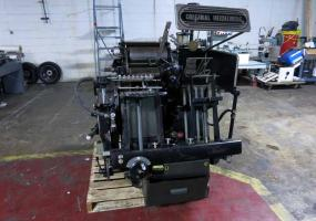 "a photo of Heidelberg Windmill 10"" x 15"" Letterpress with Lockout Rollers"