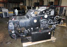 "a photo of Heidelberg KORA 18"" x 22 1/2"" Offset Printing Press w/ Longbox"