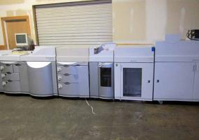 a photo of Heidelberg Digimaster 9110  with Booklet Maker