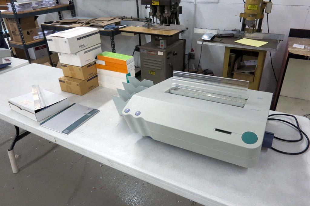 Fastback Binding Supplies 45 Powis Parker Fastback 15 Binding Machine w Supplies 2