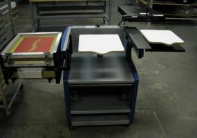 Precision Press-A-Print Screen Printing System with Exposure Module