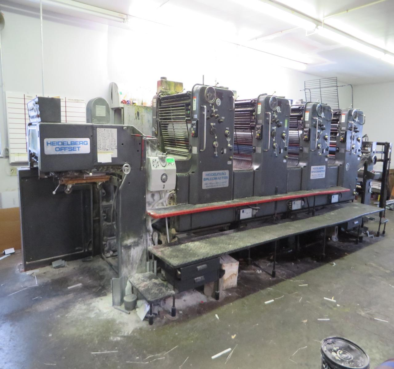 Digital Offset Printing - Four Color Press Royalty Free Stock ...