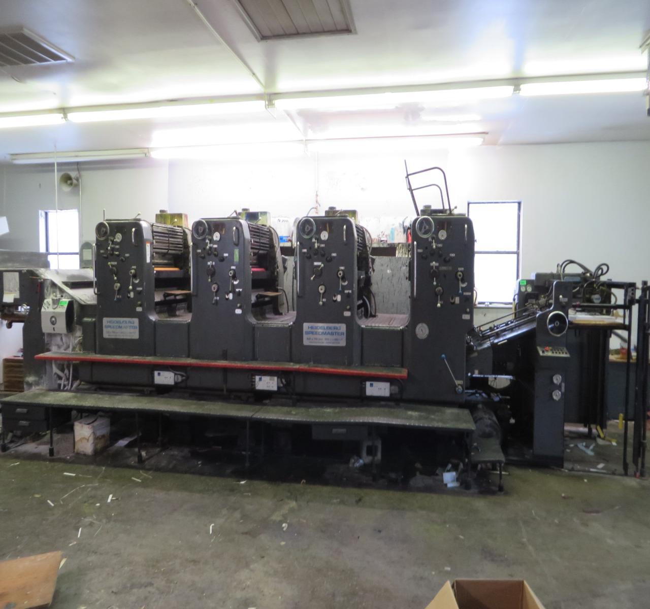 Used KBA162-4, Used KBA printing machine, KBA Large size printing ...