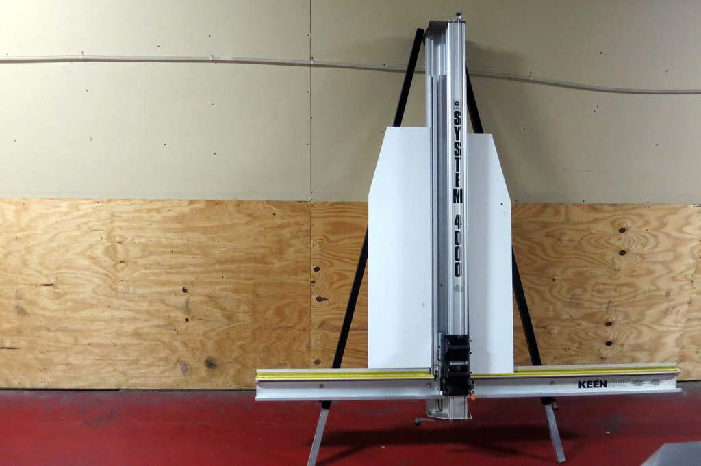 lot 43 keencut system 4000 picture framing equipment