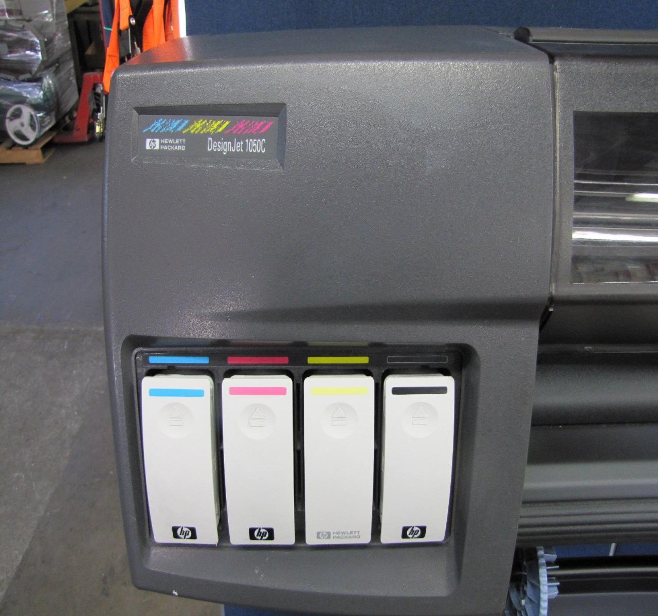 Lot 8 Hp Designjet 1050c C6074a Wide Format Printer