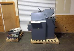 a photo of 2000 Heidelberg Printmaster Two Color Offset Printing Press