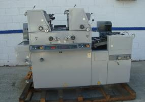 a photo of RYOBI/ ITEK 3985/ 9985, YEAR: 1998, TWO COLOR PRESS, DIAMOND DAMP