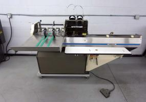 a photo of Rosback 201A Two Head Saddle Stitcher S/N 201A841197