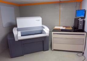 a photo of 2009 Heidelberg Prosetter 74  (model 2165) S/N - 05805120 w/ Dell Poweredge 2900 RIP and MAC Print Server