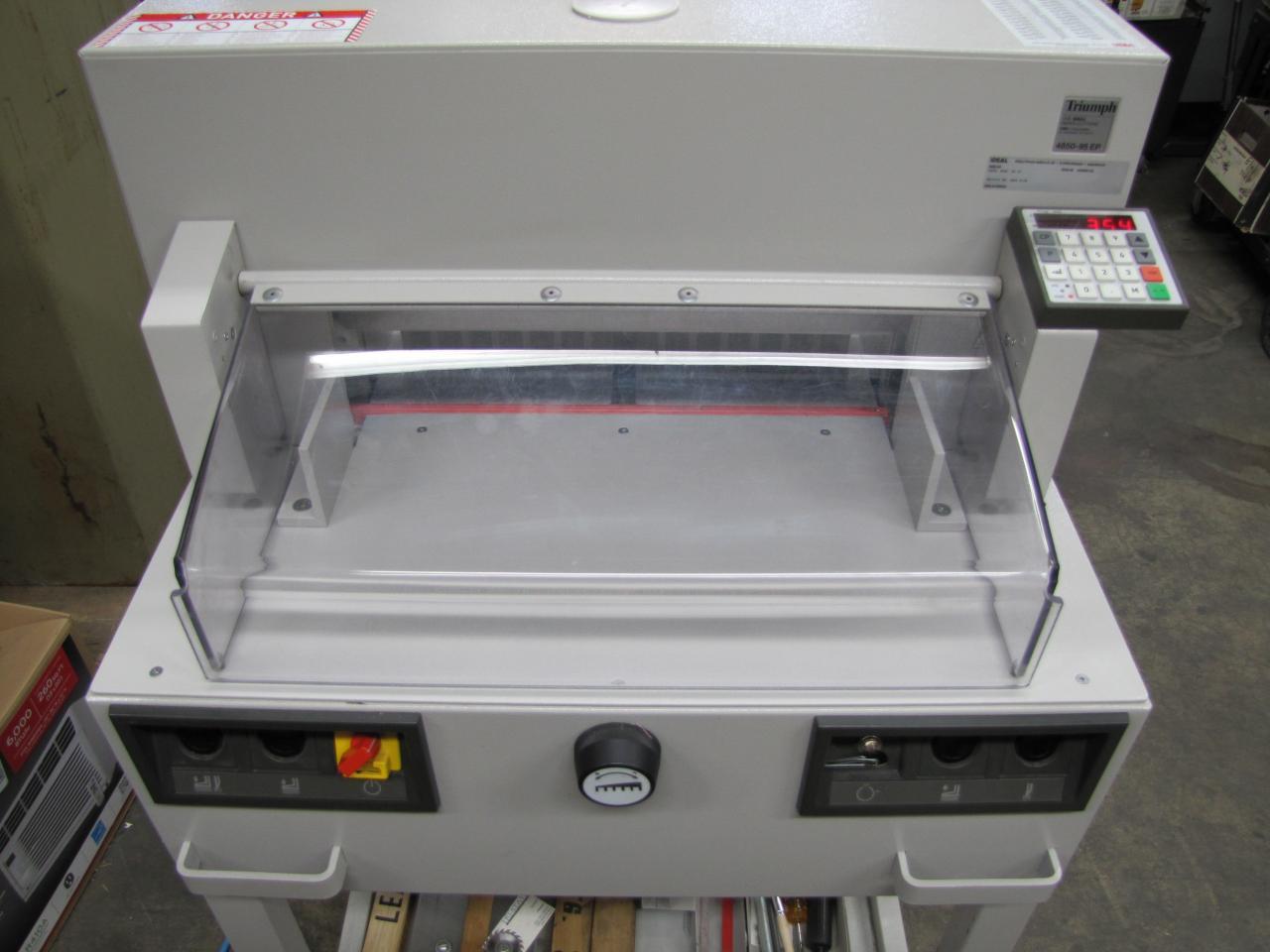 triumph paper cutter