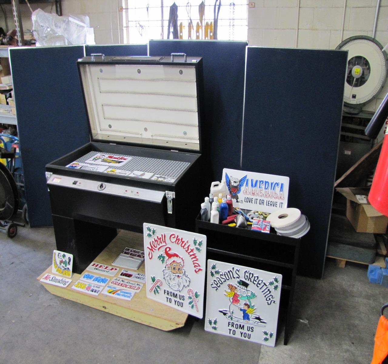 vinyl sign making machine