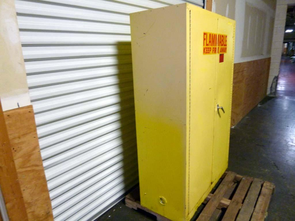 Lot #79: Eagle 1947 Flammable Storage Safety Cabinet 45 Gallon ...
