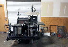 "a photo of Heidelberg 13"" x 18"" Windmill Letterpress / Diecutter"